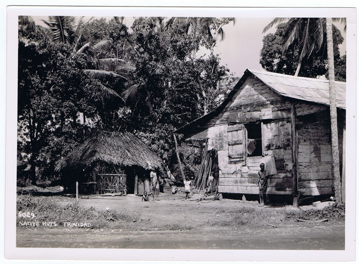 ANON Natives Huts Trinidad. - 5029