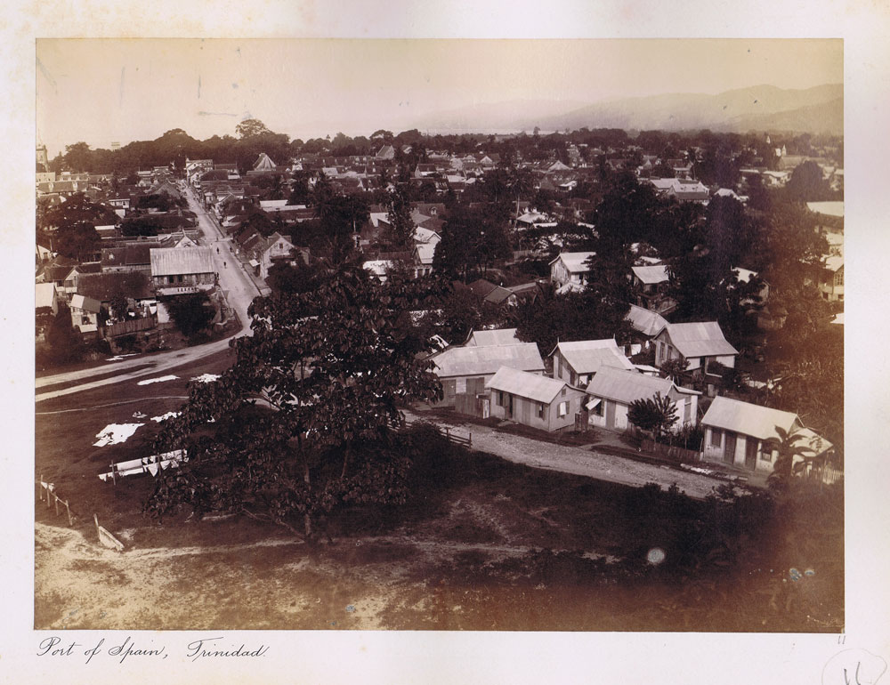 1880 (circa) Port of Spain, Trinidad.