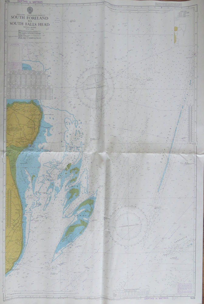 ADMIRALTY CHART South Foreland to South Falls Head.