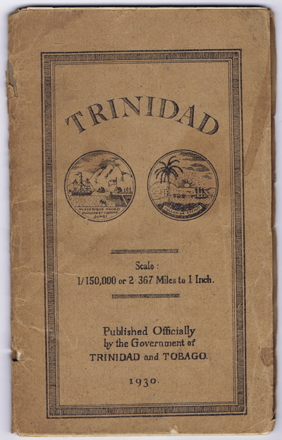ORDNANCE SURVEY Trinidad. - Scale 1/150,000 or 2.367 Miles to 1 inch.