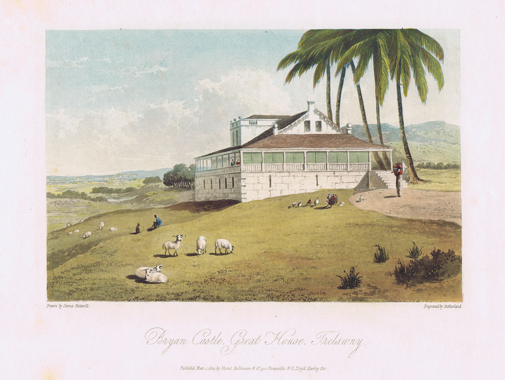 HAKEWILL J. Bryan Castle Great House - Trelawny.