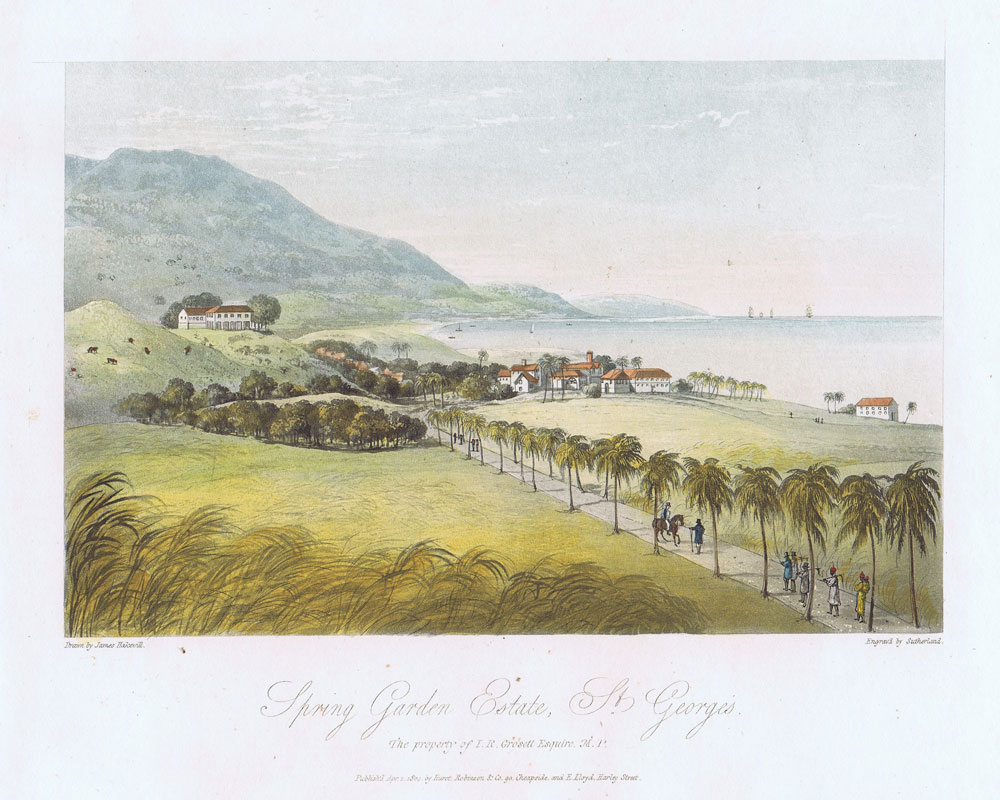 HAKEWILL J. Spring Garden Estate, St Georges. - The property of I.R. Grosett Esquire, M.P.