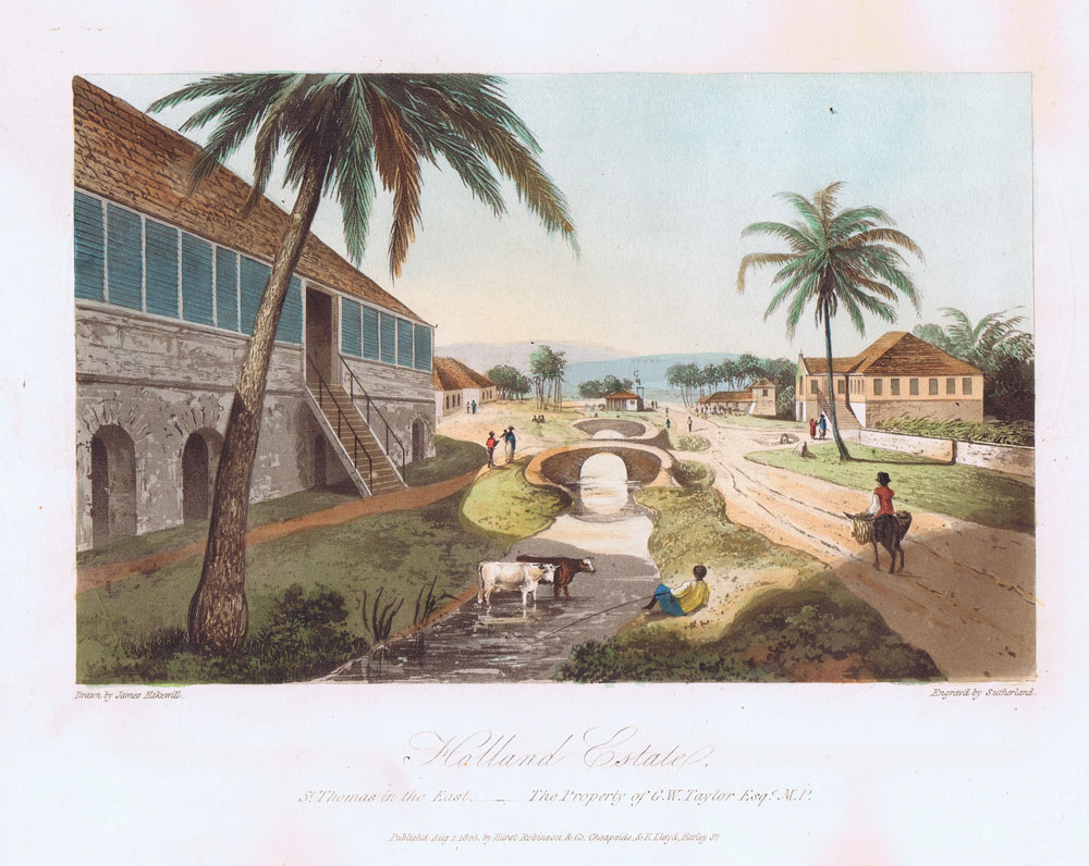 HAKEWILL J. Holland Estate, St Thomas in the East. The Property of G.W. Taylor Esq. M.P.