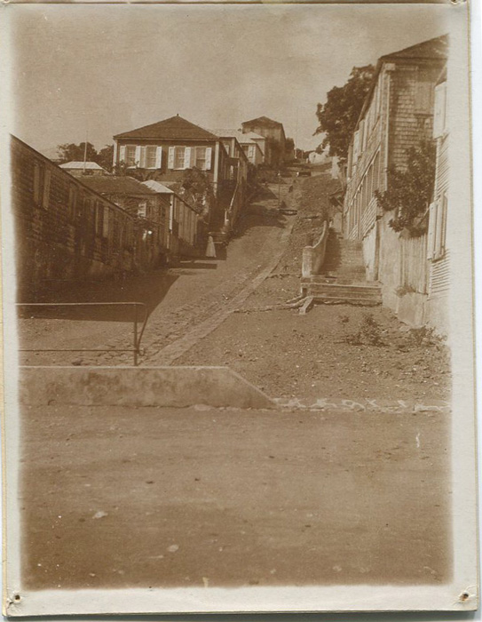 DANISH WEST INDIES Old original sepia photographs