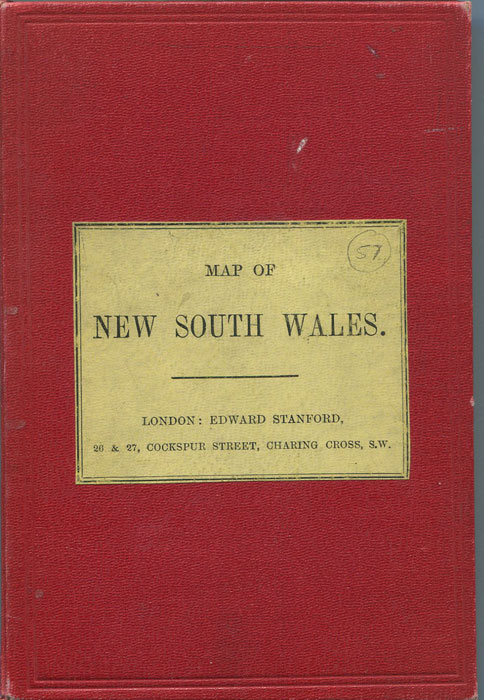 STANFORD Edward Map of New South Wales.
