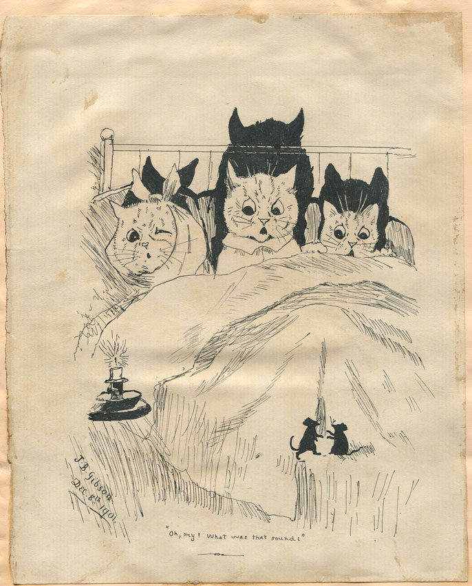 LOUIS WAIN Oh my!  What was that sound !