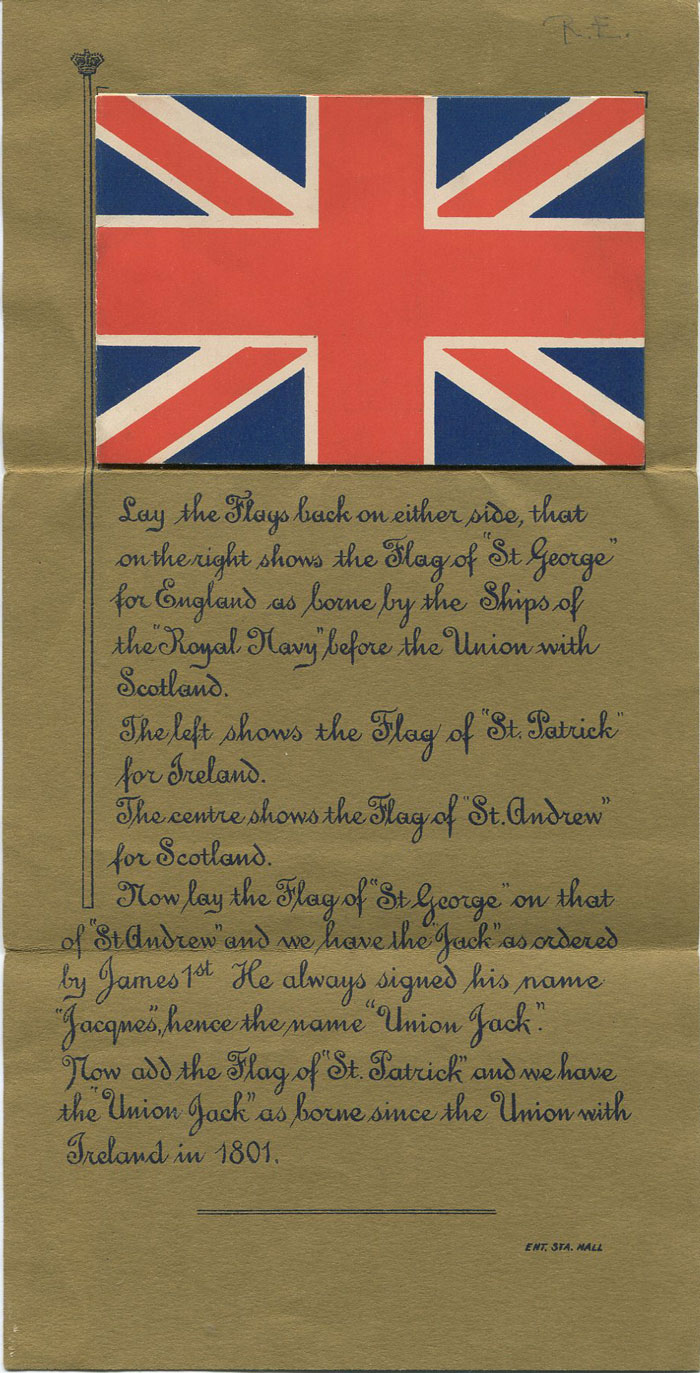 GREAT BRITAIN Illustrated History of the Union Jack