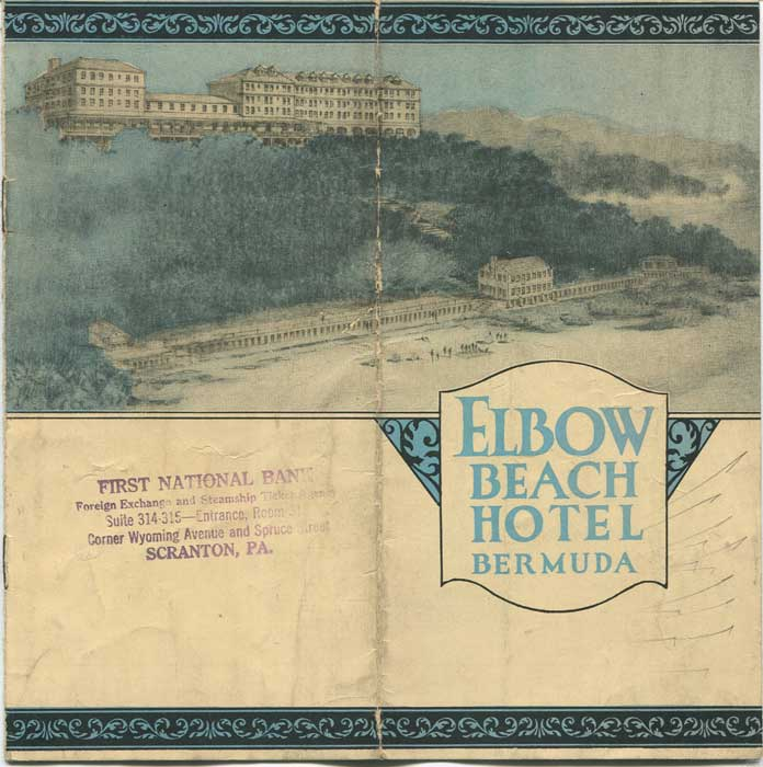 1930 Elbow Beach Hotel, Bermuda