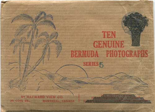 BERMUDA Ten Genuine Bermuda Photographs. Series 5