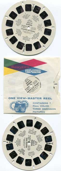 BERMUDA View-Master three dimension pictures