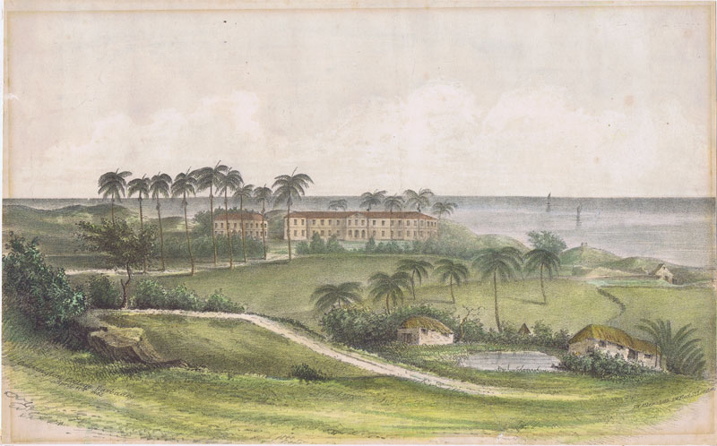 BARBADOS Codrington College Barbados April 11th 1845