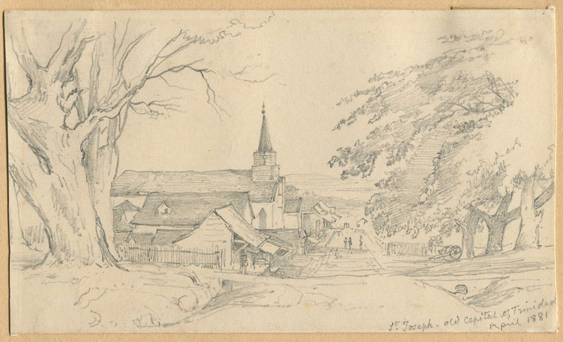 ANON St Joseph - old capital of Trinidad. April 1881