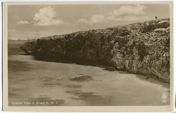 ANON Coastal View of Aruba D.W.I.