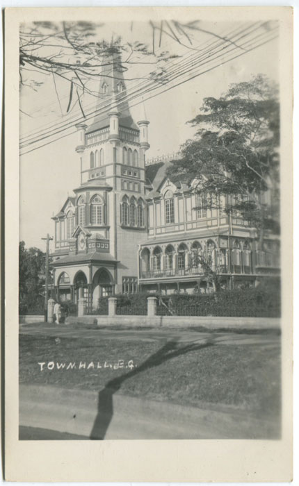 ANON Town Hall, B.G.