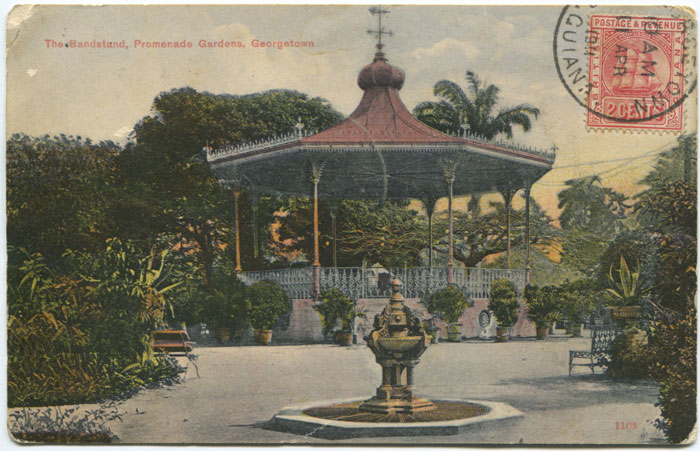 THE ARGOSY The Bandstand, Promenade Gardens, Georgetown.