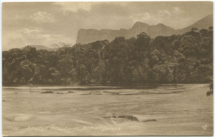 RAPHAEL TUCK & SONS Amatuk Mountains, British Guiana.