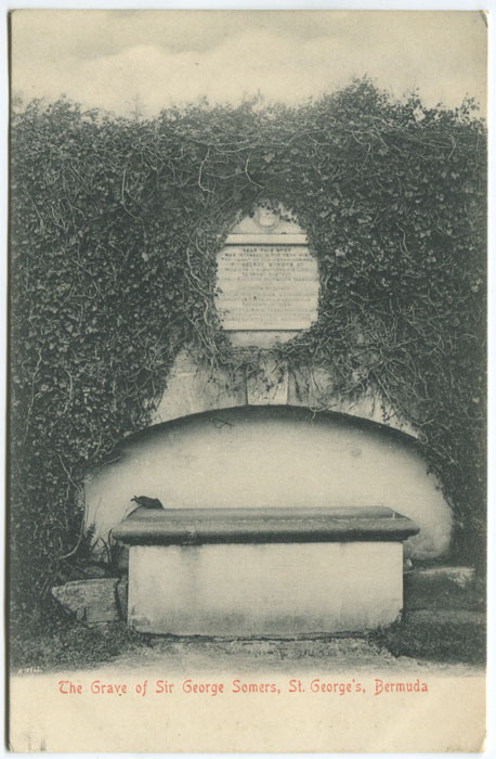 A.E. BOURNE The Grave of Sir George Somers, St George