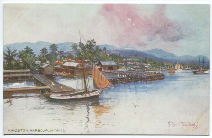 RAPHAEL TUCK & SONS Kingston Harbour, Jamaica. - 7295 Oilette series