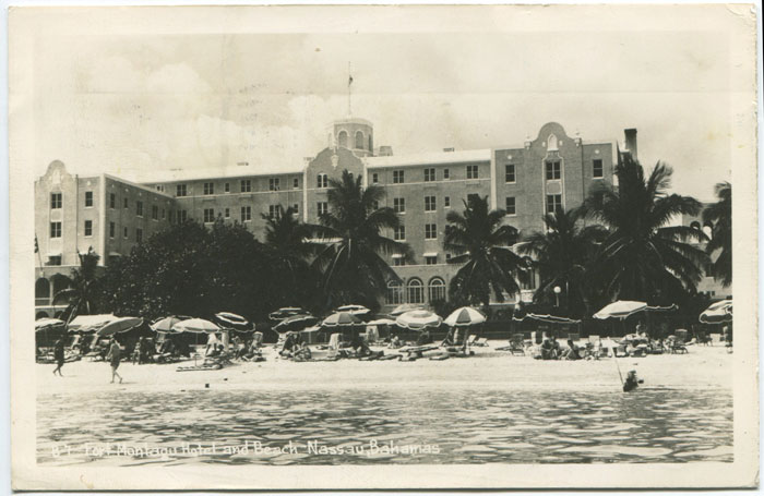 ANON Fort Montagu Hotel and Beach, Nassau, Bahamas.