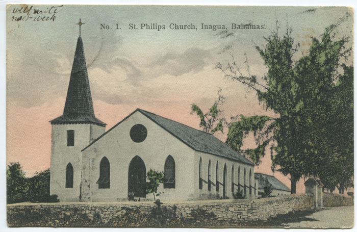 ANON St Philips church, Inagua, Bahamas. - No 1.