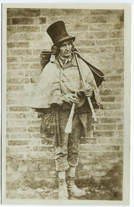 ANON George Yates, the blind postman between Farnsfield & Southwell.