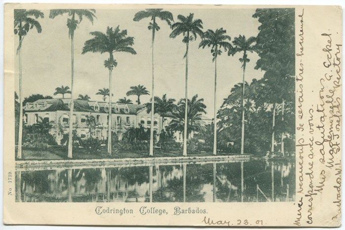 ANON Codrington College, Barbados.