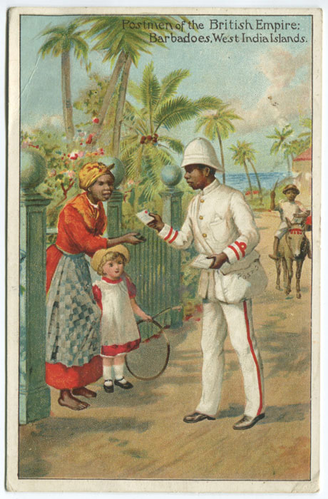 ANON Postmen of the British Empire: Barbadoes, West India Islands.