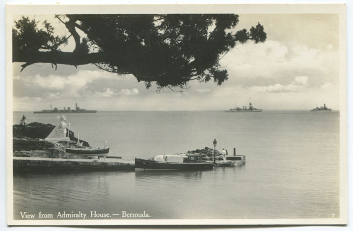 WALTER RUTHERFORD AND A.J. GORHAM View from Admiralty House - Bermuda. - No 7.