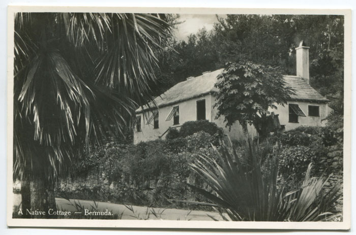 WALTER RUTHERFORD AND A.J. GORHAM A Native Cottage - Bermuda. - No 24.