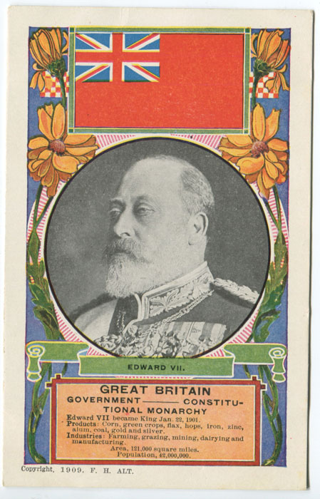F.H. ALT Edward VII. Great Britain.