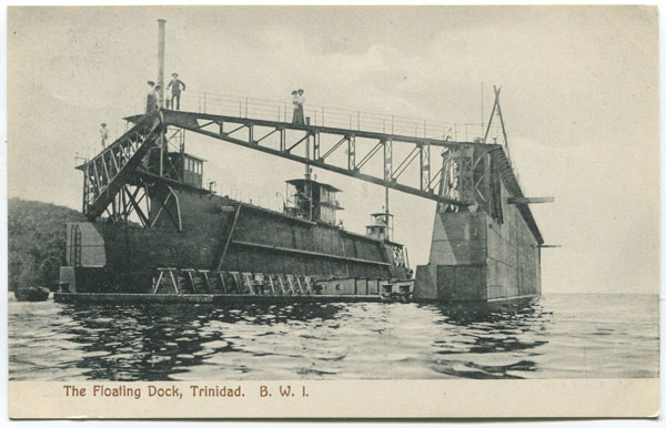 MUIR MARSHALL & CO The Floating Dock, Trinidad. B.W.I.