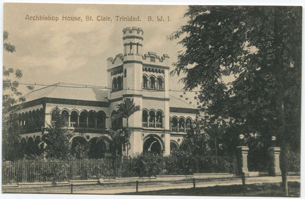 MUIR MARSHALL & CO Archbishop House, St Clair, Trinidad. B.W.I.