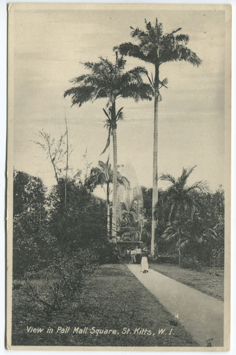 A. MOURE LOSADA View in Pall Mall Square, St Kitts, W.I. - No 147a
