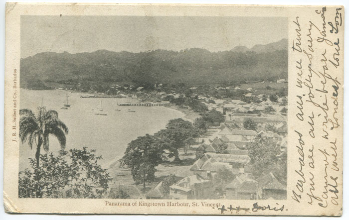 J.H.R. SEIFERT and Co., Barbados Panarama of Kingstown Harbour, St Vincent.