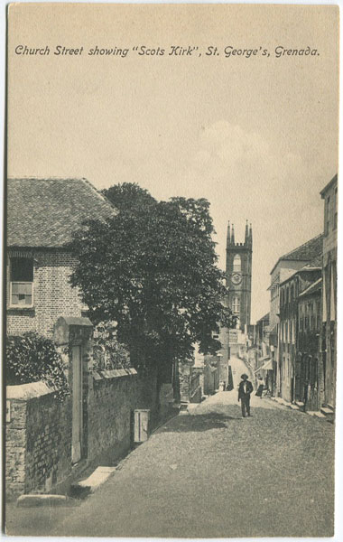 "ANON Church Street showing ""Scots Kirk"", St George"