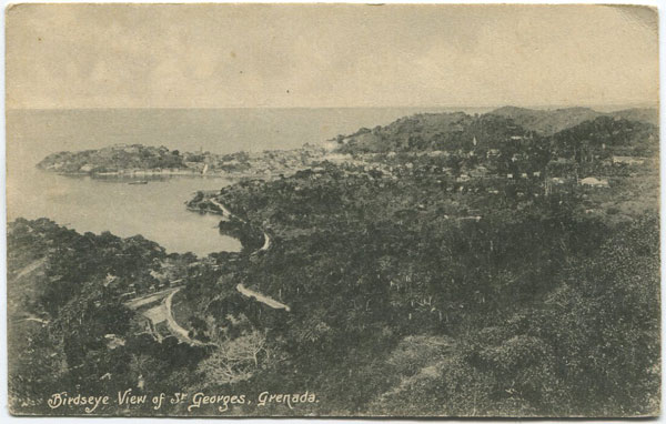 ANON Birdseye view of St Georges, Grenada.