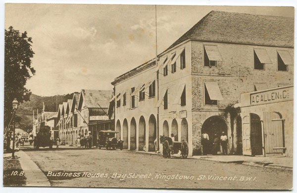 RAPHAEL TUCK & SONS Business Houses, Bay Street, Kingstown, St Vincent B.W.I.
