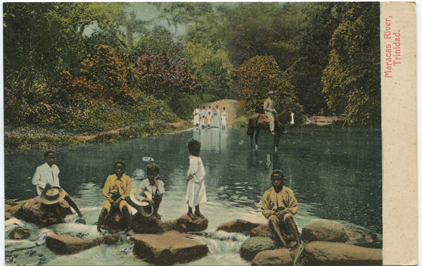MUIR MARSHALL & CO Maracas River. Trinidad.