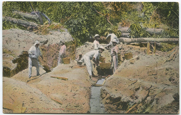 "BOOKER BROS. The Gold Industry. ""Tom"" washing, Masaruni."