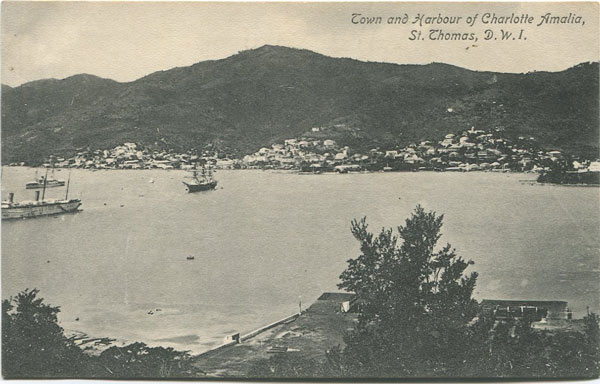 G. BERETTA & CO Town and Harbour of Charlotte Amalia, St Thomas, D.W.I.