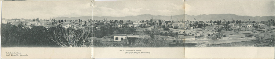 TH. N. TOUFEXIS No. 31. Panorama of Nicosia.