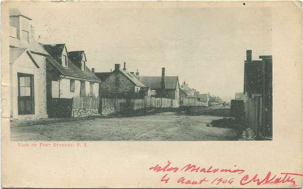 ANON View of Port Stanley, F.I.