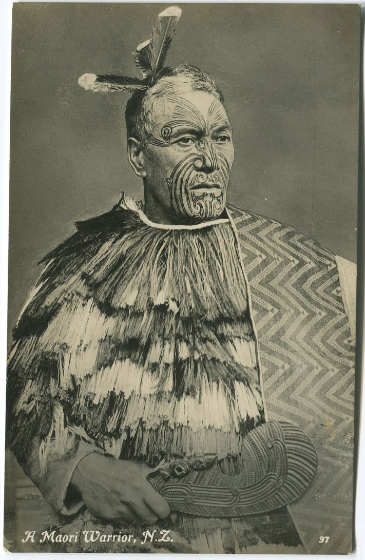 TANNER BROS. LTD A Maori Warrior, N.Z.