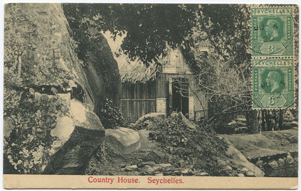 S.S. OHASHI Country House Seychelles.