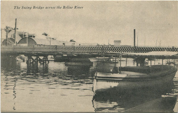 EVAN V. AVERY The Swing Bridge across the Belize River.