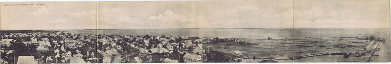 ANON Cycloramic View of Belize, B.H. N. and E.