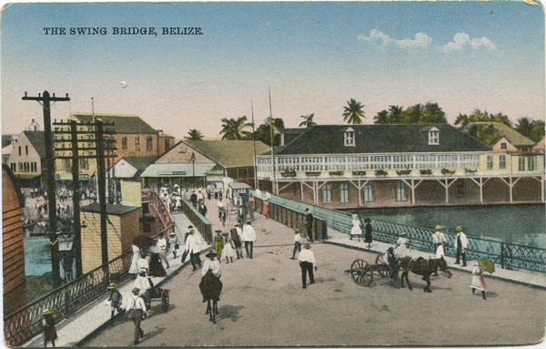 A.E. MORLAN The Swing Bridge, Belize.