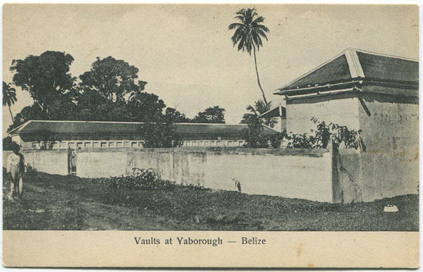 ANON Vaults at Yaborough - Belize.