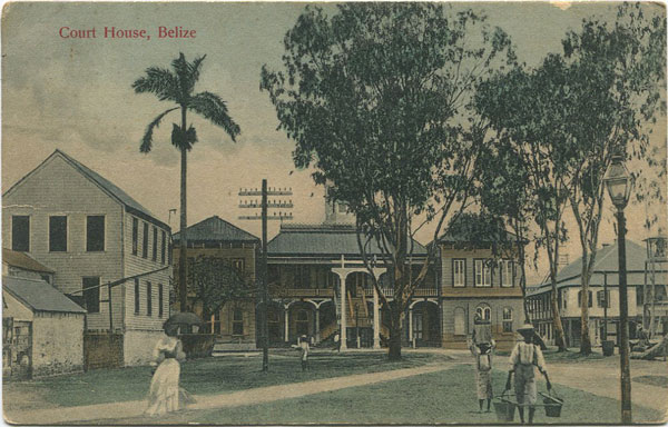 ANON Court House, Belize.