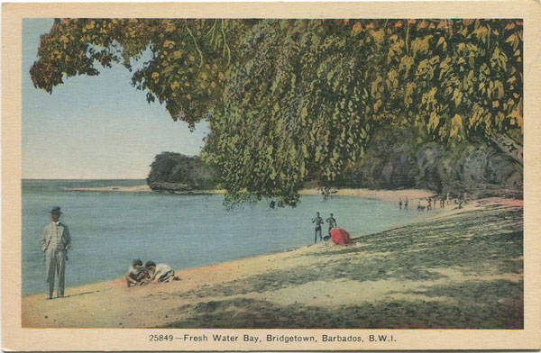 PECO Fresh Water Bay, Bridgetown, Barbados, B.W.I. - 25849